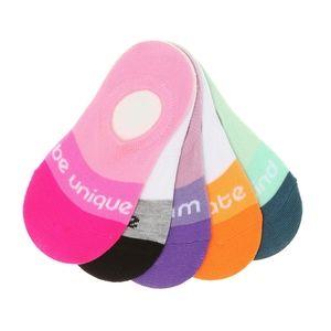 Olive & edie girl's no show liner socks 5Pk